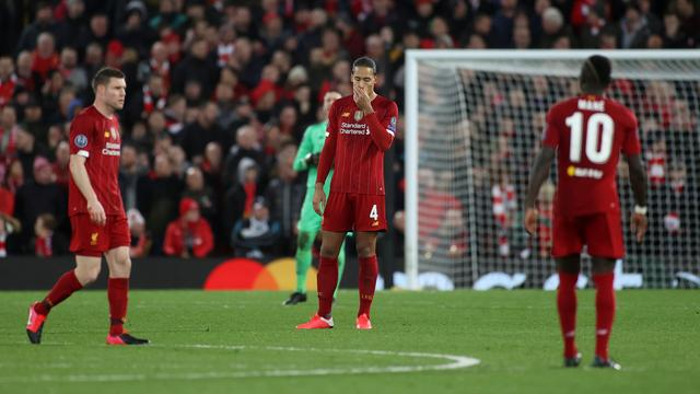 Van Dijk na CL-uitschakeling Liverpool: 'We speelden een perfect duel'