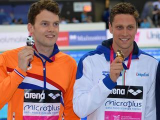 Nederland pakt goud op 4x100 meter vrije slag bij gemengde estafette