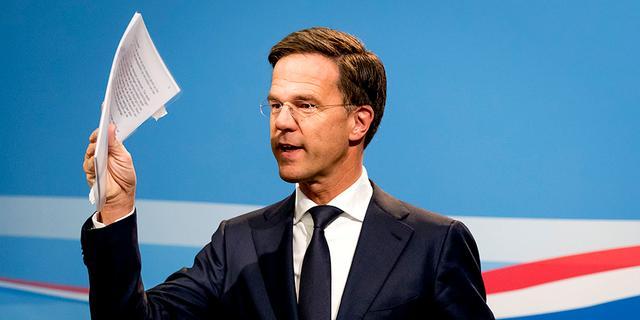 Rutte: 'Vertraging schadeprotocol Groningen komt door formatie'