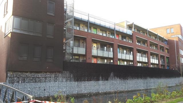 Bewoners appartementencomplex Bergen op Zoom nog niet terug