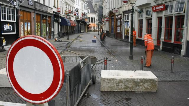 Bredanaar aangehouden na aanvallen portiers op Vismarktstraat