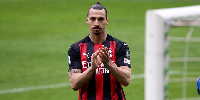 Ibrahimovic mag trainingen AC Milan missen voor zangoptreden in San Remo