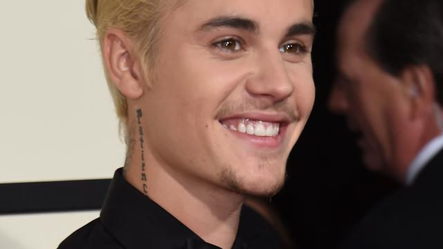 Justin Bieber bezoekt Oktoberfest