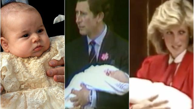 Kate Middleton bevallen: Zes Britse royals als baby