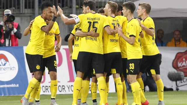Borussia Dortmund wint nipt in voorrondeduel Europa League