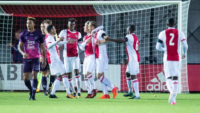 Jong Ajax verstevigt koppositie in Jupiler League, NEC verslaat Fortuna