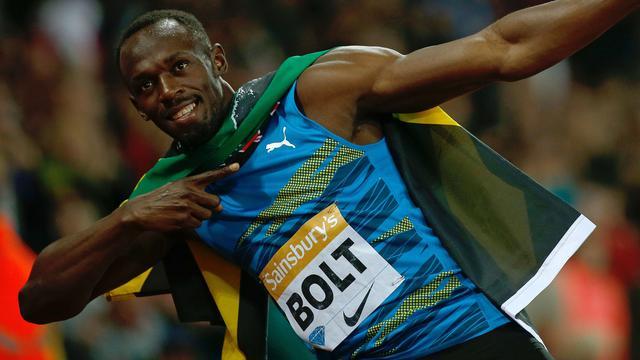 Bolt wint 100 meter bij rentree in Diamond League