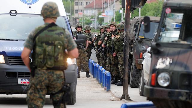 Gewonden bij grote politieactie in Macedonië