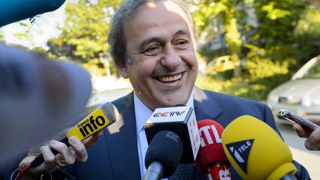 Platini vol vertrouwen begonnen aan beroepszaak bij CAS
