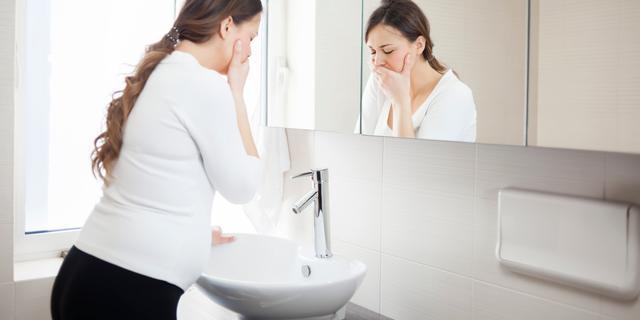 Extreme zwangerschapsmisselijkheid: 'Moest dagelijks wel 30 keer overgeven'