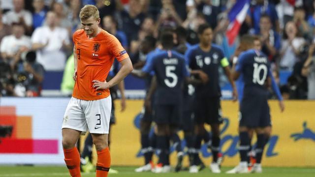 Oranje begint Nations League met kleine nederlaag tegen Frankrijk