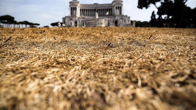 Aanhoudende droogte baart toeristische gebieden in Italië grote zorgen