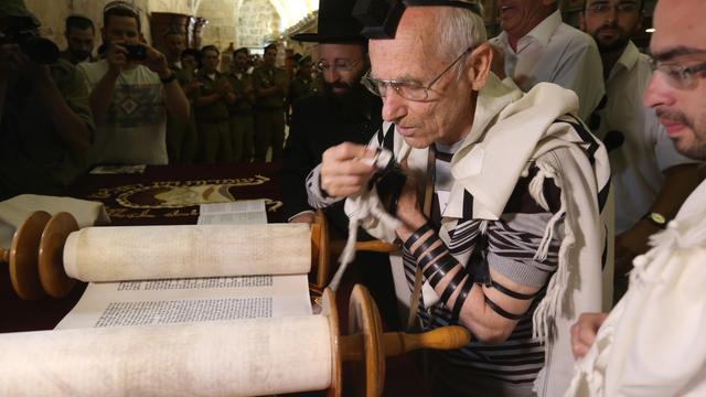 Man viert bar mitswa honderd jaar later dan gepland