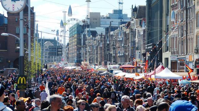 Vijf grote evenementen in Amsterdam op Koningsdag