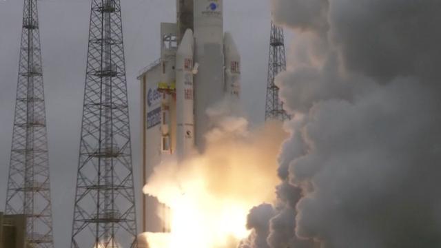 Europa lanceert raket met gps-satellieten