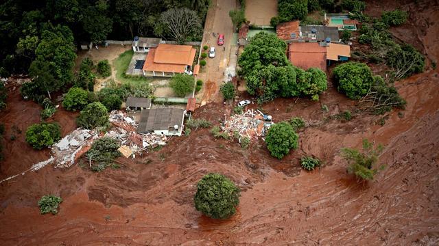 Koers mijnbouwbedrijf Vale daalt hard na overstromingsramp Brazilië
