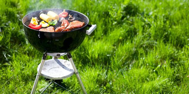 Vlees aangebrand door lek in slimme barbecue
