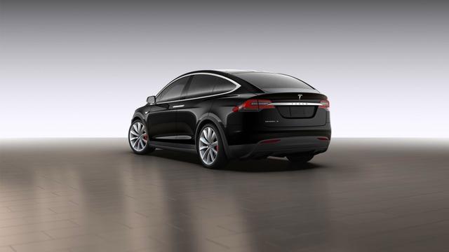 Tesla Model X lekt via online configurator