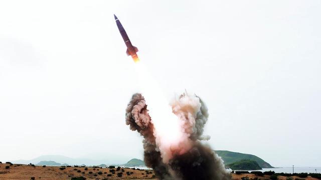 Zuid-Korea test raket die verre doelen in Noord-Korea kan raken