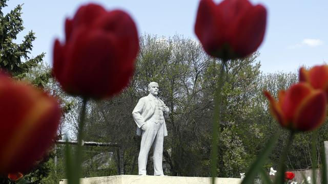 Russische jongeren starten selfie-actie voor bekendheid Lenin
