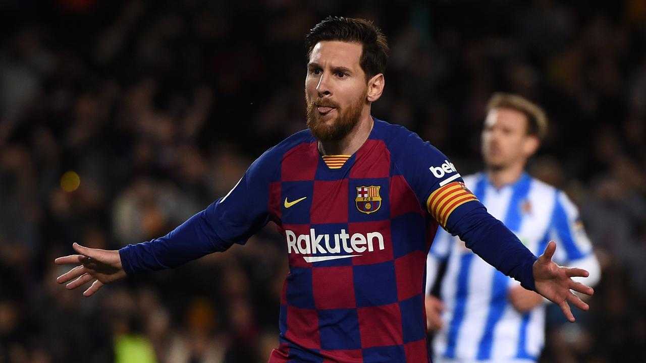 Messi Shoots Fc Barcelona To A Tight Win De Jong Scores For Seville Teller Report