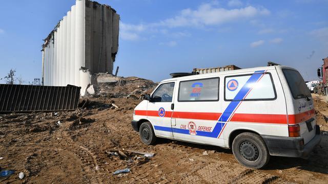 Al 2,2 miljoen euro via Giro555 gedoneerd voor slachtoffers explosie Beiroet