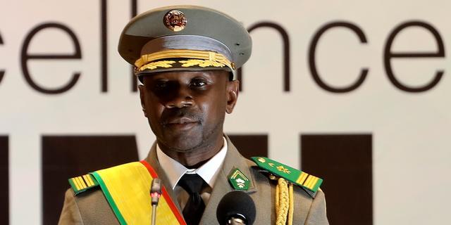 Pleger van twee staatsgrepen in Mali ingezworen als interim-president
