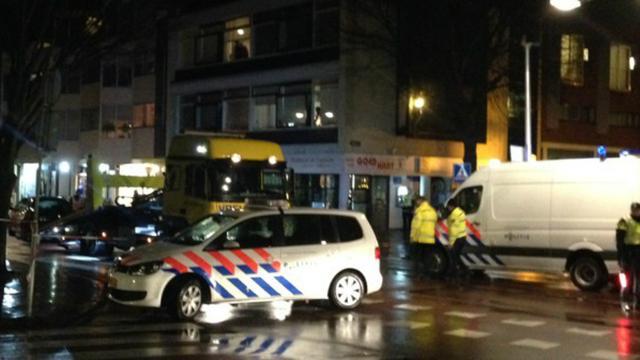 Voetganger geschept op de Korevaarstraat
