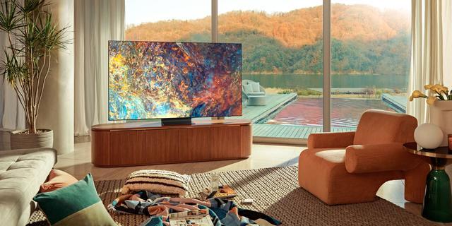 Samsung presenteert 4K- en 8K-televisies met miniled-technologie