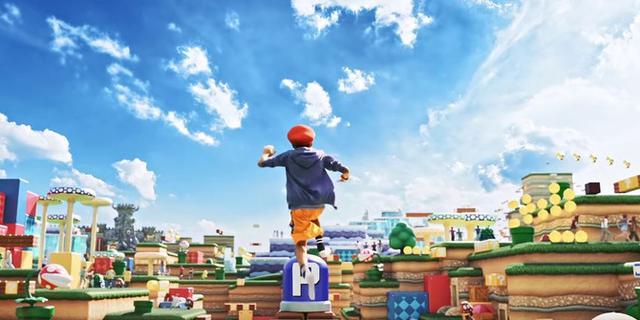 Nintendo-pretpark in Japan moet een levensgrote videogame worden