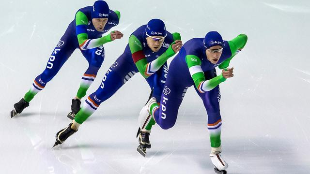 Blokhuijsen spreekt van 'anticlimax' na mislukte team pursuit