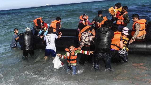 Meer migranten naar Italië, minder naar Griekenland