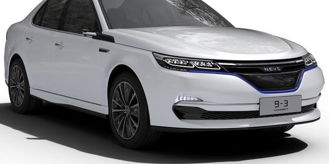 NEVS komt met elektrische opvolger Saab 9-3