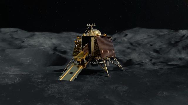 India signaleert 'verloren' lander en probeert contact te herstellen