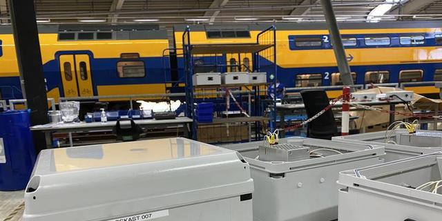 NS gaat stroomvoedingen voor beademingsapparatuur produceren