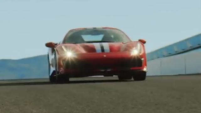 Nieuwe 720 pk sterke Ferrari 488 Pista het circuit op