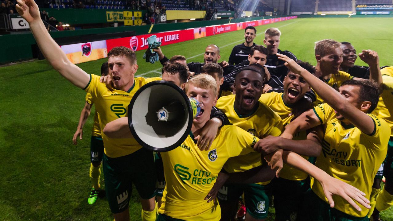 Samenvatting Fortuna Sittard-FC Dordrecht (5-1)