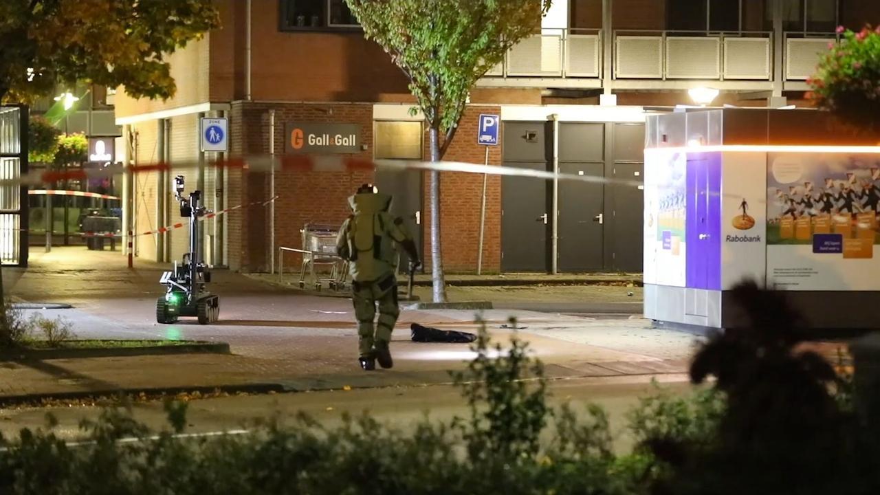 Opruimingsdienst vindt explosief na mislukte plofkraak in Kudelstaart