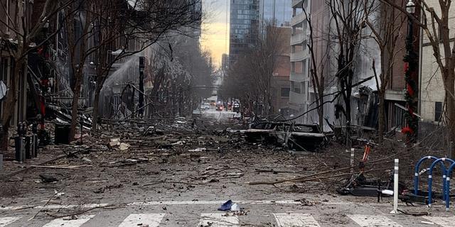 Explosie in Nashville veroorzaakt door bom in camper, FBI doet onderzoek