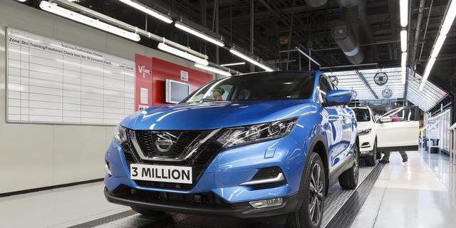 Nissan viert productiemijlpaal Qashqai