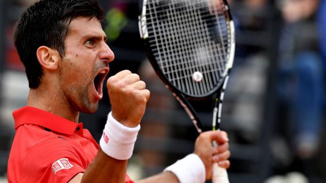 Djokovic en Thiem halvefinalisten in Parijs