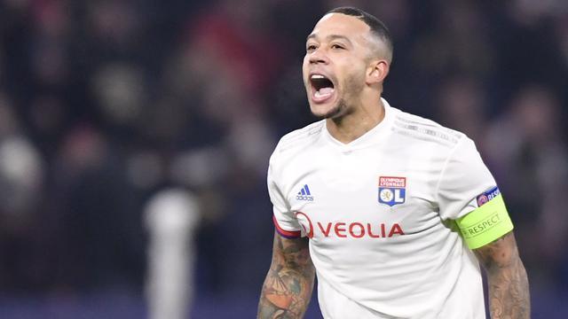 Memphis maakt vier goals bij rentree voor Olympique Lyon in oefenduel