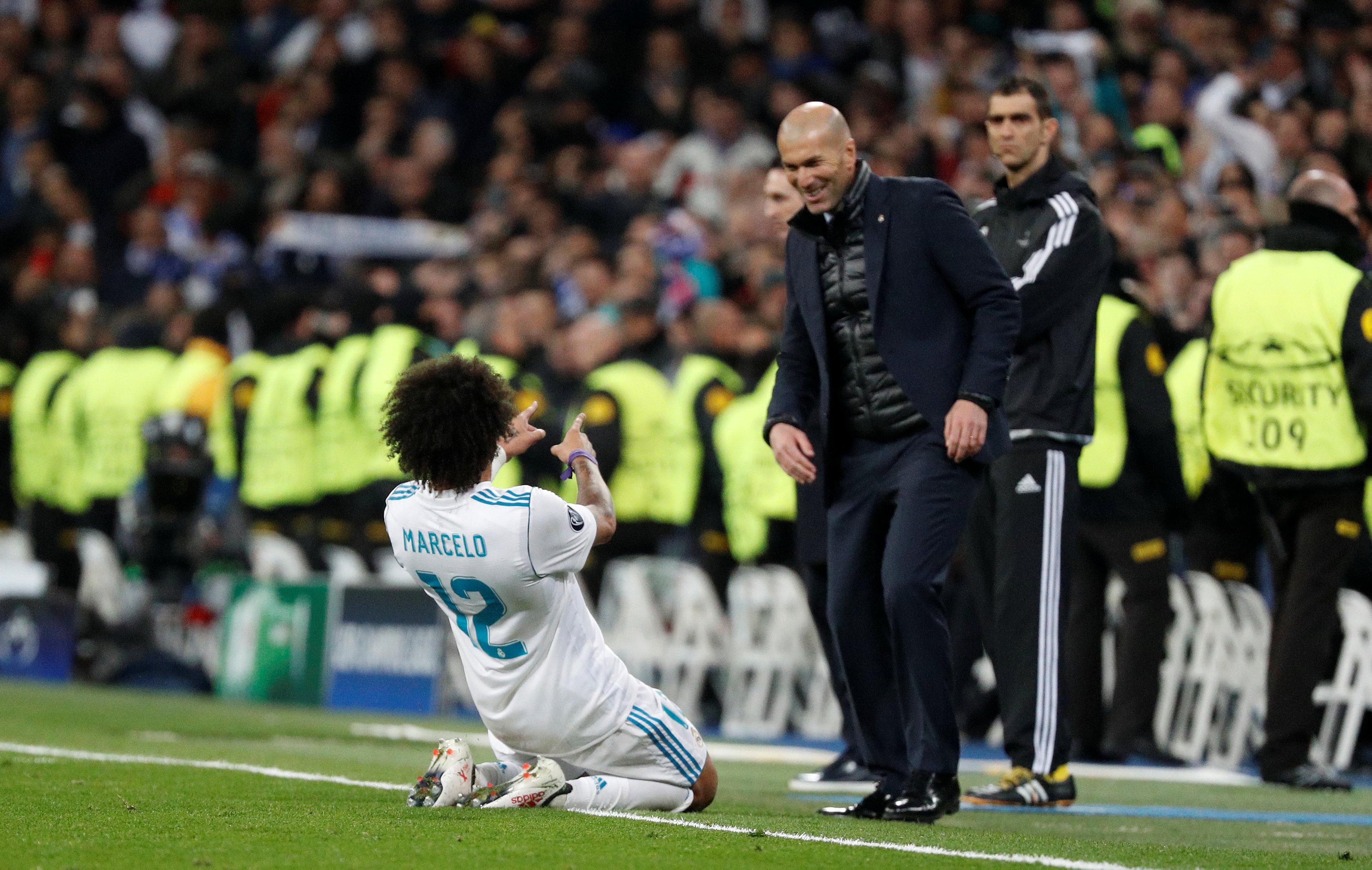 Zidane hoopt dat 'geweldige avond' tegen PSG begin is van stabiele serie
