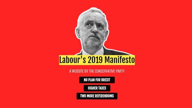 Britse Conservatieve Partij zet nepwebsite met 'manifest' Labour online