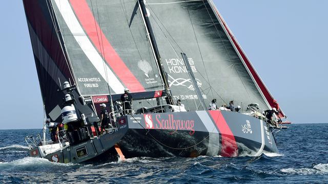 Zeilster Bes wint met Sun Hung Kai/Scallywag vierde etappe Volvo Ocean Race