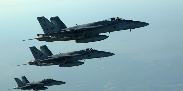 Voor het eerst 'missing man fly-over' met alleen vrouwelijke piloten in VS