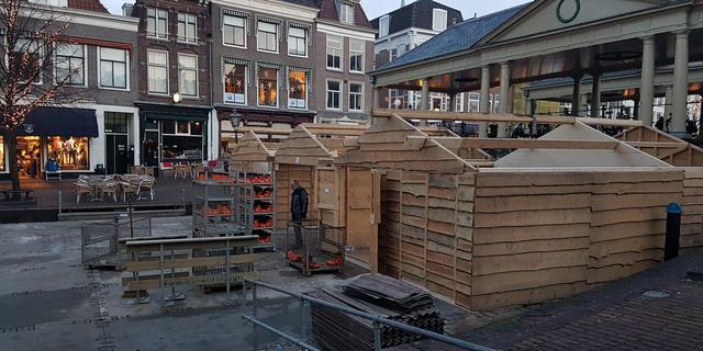 Ook kerstman logeert komende weken in Leiden