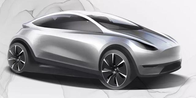 Tesla toont in China afbeelding van een nieuw, nog onbekend model