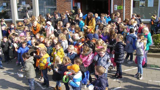 Heel veel herrie op Rietvestschool en Molenvlietschool