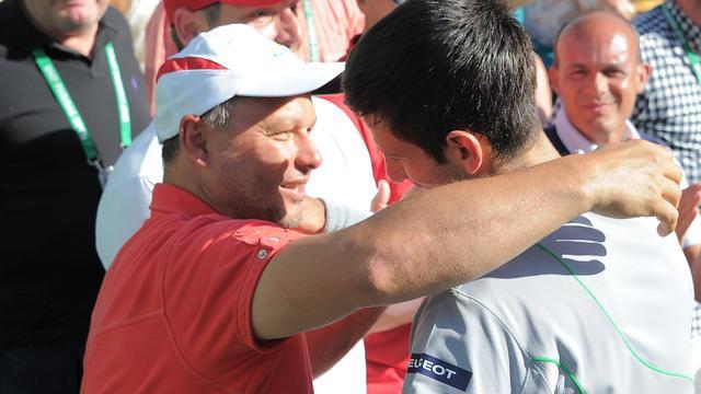 Djokovic na een jaar alweer herenigd met oud-coach Vajda